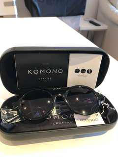 Komono Sunnies w Leather Case