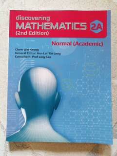 Discovering Mathematics 2A Normal Academic