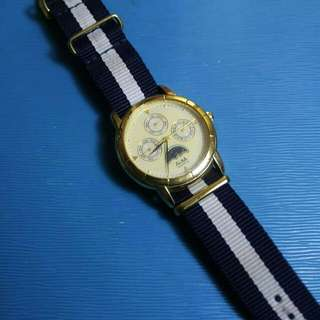 jam tangan alba watch original day date
