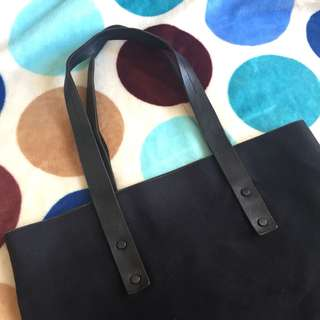 COS Limited edition black tote bag