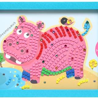EVA Foam Mosaic Stickers Animal Picture
