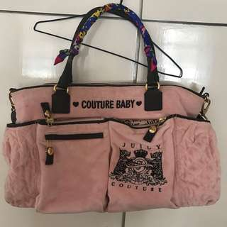 Juicy Couture diaper's Bag