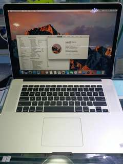 """MacBook Pro 2015 15"""" T2"""