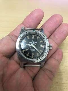 60年代叻架面潛水自動手錶 Sigma Valmon Skin Diver 武林聖火令夜光刻度