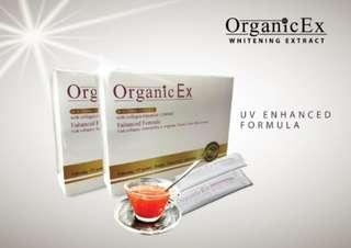 organic ex whitening collagen