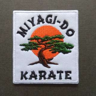 Karate Kid Movie Miyagi Do Iron On Patch No Mercy Cobra Kai