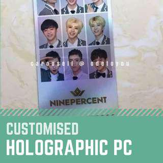 [Fansupport Goods] Customised Holographic Photocards