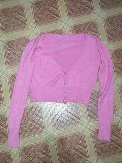 Pink Cotton Jacket
