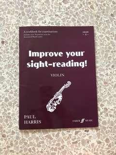 Violin Sightreading book
