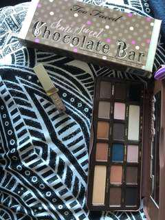 Too faced chocolate bar and stila