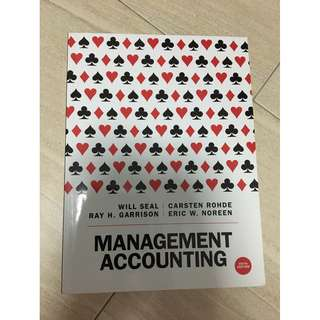 Management Accounting by Will Seal, Carsten Rohde