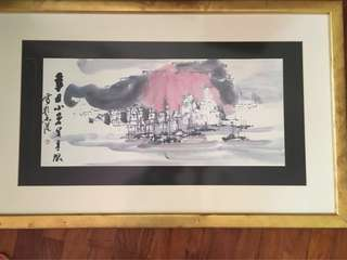 Unique collection of Hong Kong scenery paintings by Lui Shou Kwan