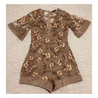 Size 8 | Alice Mccall Inspired Playsuit