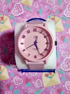 Jam Tangan Q&Q Original Rubber Bands VR25 Series