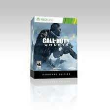 Xbox 360 Call of Duty Ghost Hardened Edition
