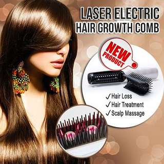 🚚 Laser Electric Hair Growth Comb💖Scalp Massager💖Hair Treatment💖Relax yourself💖Good for Gifts💖