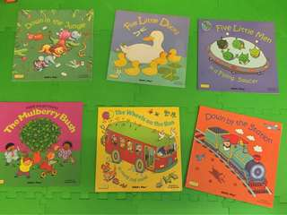 Books with CD (6 books and 6 CD)