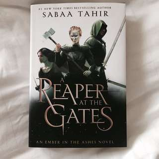 (instock) reaper at the gates ✨ by sabaa tahir