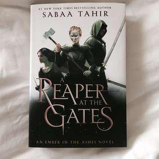 (instock) reaper at the gates ✨ by sabaa tahir