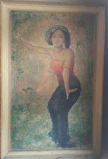 Lukisan penari pendet