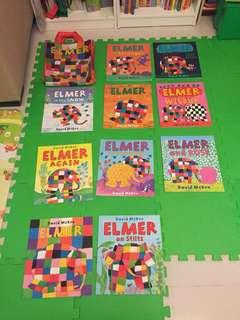 Elmer book set (10 books)