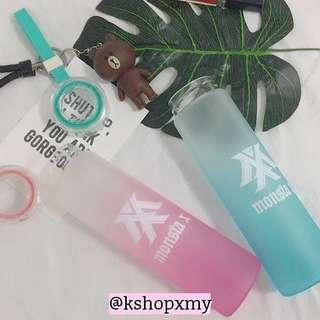 Monsta X Glass Water Bottle