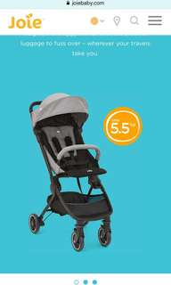 Joie Pact Lite Compact Stroller