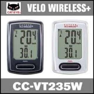 Cateye Velo Wireless+ CC-VT 235W Cycle Computer