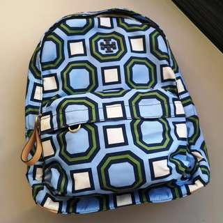 Tory Burch Printed Nylon Backpack