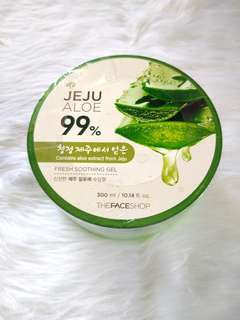 Authentic The face shop Aloe Soothing Gel