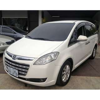 2011年 納智捷 Luxgen ~ MPV 7 ~ 2.2 Turbo ~ 豪華版~ 白