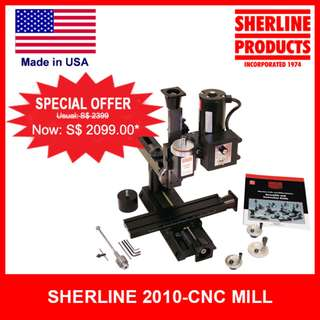 Sherline CNC 8 Directional Mill / Desktop Milling Machine