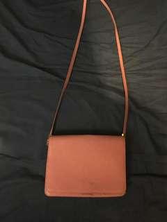 [包郵] H&M 粉紅色斜咩袋