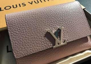 Lv capucines wallet