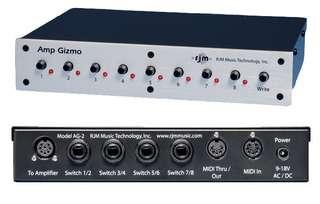RJM Amp Gizmo MIDI amp switching