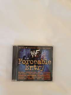 WWE Forcible Entry Music CD