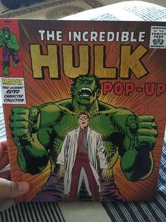 Hulk POP UP Book MARVEL