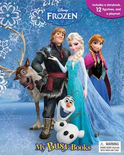 🚚 (Pre-Order)  Disney Frozen My Busy Book