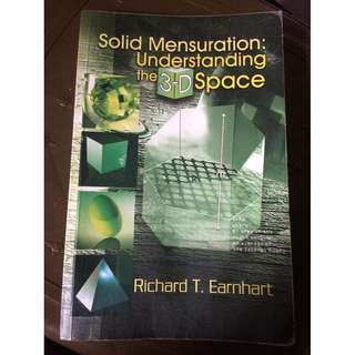 Solid Mensuration Textbook