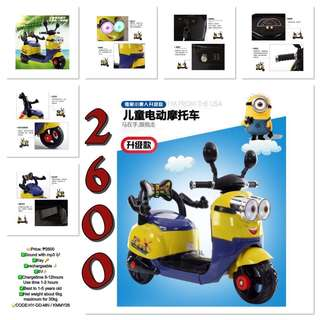 Ride On Kids Motor Minion