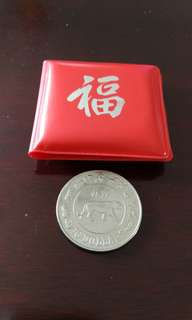 Singapore $10 currency Coin 1986 Tiger虎硬钱币