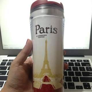 Paris Starbucks Tumbler