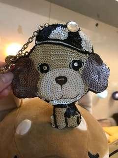 Che Che New York coin bag 貴婦狗 散纸包 珠片 handmade