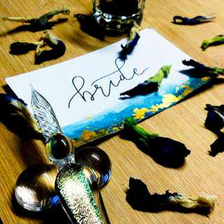 Wedding Place Card | Calligraphy Service | Lettering | Customized Gift Tag