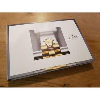 🚚 Rolex  2018 Hardback catalogue