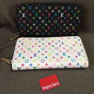 LV Multicolor Zippy Wallet Buy 1 Take One