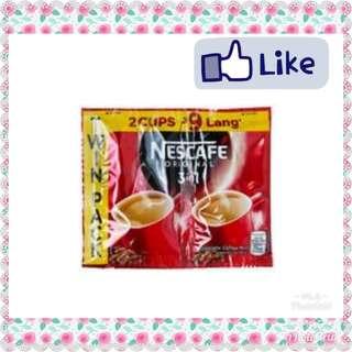 Nescafe orig twin