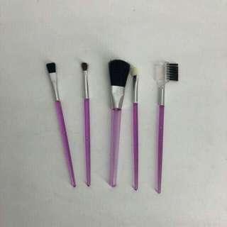 Mini 5Pcs Makeup Brush Set