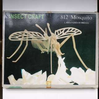 Insect craft(mosquito) 蚊子砌木模型