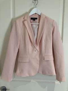 Size S Forever 21 blazer in blush